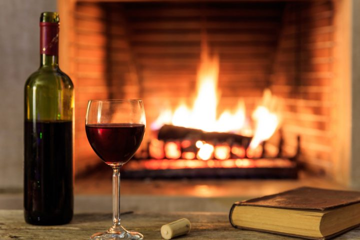 Settle into the holidays with a glass of wine
